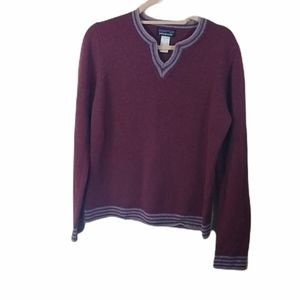 Patagonia Womens Wne Wool Pullover Sweater L